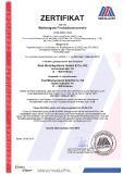 Zerti Produktionskontrolle Abel Metallsysteme 2018
