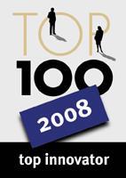 TOP 100 Lable 2008 zeig wieder die Innovationsstärke des Unternehmens