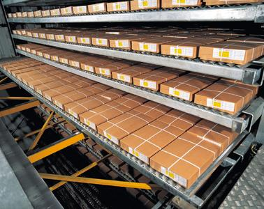 The control system of the GEA I-VRT freezer ensures retention time that effectively matches the product weight and its required freezing time – before the food goes to palletizing or into frozen storage (photo: GEA).