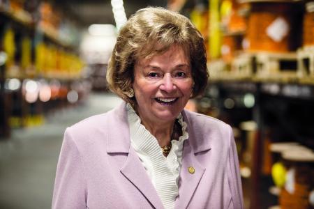 Unternehmerin Ursula Ida Lapp feiert am 30. Mai 90. Geburtstag