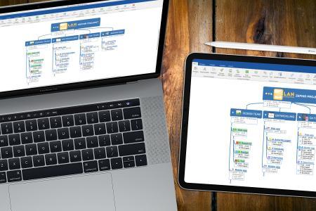 MindManager für Mac 13 erweitert die Kernfunktion in Projektmanagement und Produktivität und unterstüzt macOS-Funktionen einschließlich Sidecar.