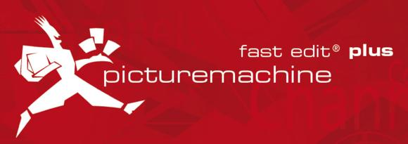 picturemachine® fast edit® plus Logo