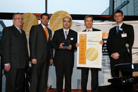 Axxom Software AG; Preisträger in der Kategorie Software, Kommunikation, IT: