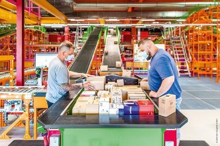 Moderne, preisgekrönte Logistikprozesse schafft dm-drogerie markt mit Unterstützung von Körber