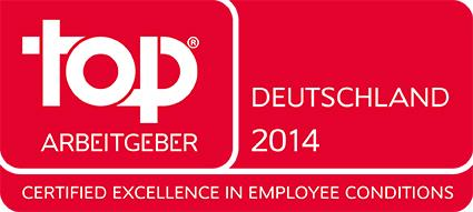 arvato Systems - in 2014 certifies as Top Employer - now has got more than 3.000 employees