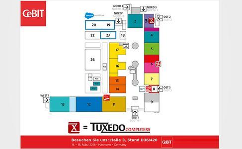 TUXEDO ist Hauptsponsor des Opens-Source-Forums