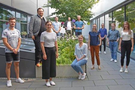 Das SIAT-Projektteam, Copyright Steinbeis Augsburg Business School