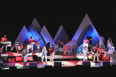 Abba Live on Stage Mit Riedel RockNet