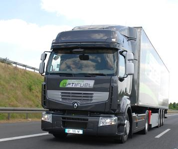 Im Fokus von Renault Trucks steht unter anderem das Optifuel-Programm zur Verbrauchsreduzierung