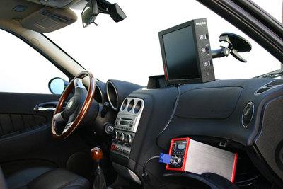 embedded PC im Einsatz bei Fahrzeugtests