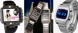 MP4- und binäre Armbanduhren