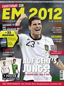 """Jetzt am Kiosk: """"Countdown zur EM 2012 - Das interaktive Fußballmagazin"""""""