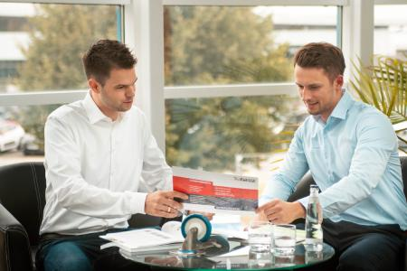14 Außendienstmitarbeiter sind bei TORWEGGE deutschlandweit im Einsatz, um Kunden und Interessenten umfassend zu beraten / Foto: TORWEGGE