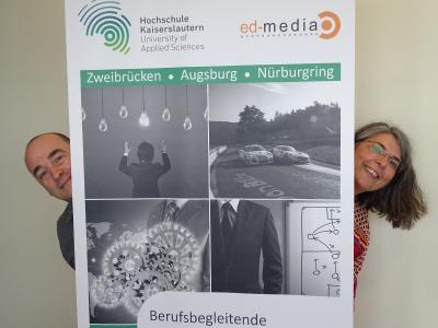 Studiengangsleiter Prof. Dr. Christian Thurnes und Barbara Gronauer / Foto: HSKL
