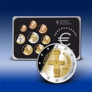 Bei BAYERISCHES MÜNZKONTOR im Angebot: Kursmünzensatz der Republik Zypern, Bild: Bayerisches Münzkontor
