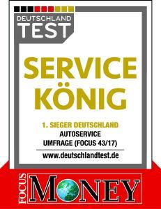 "Siegel ""Service-König"""