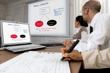 Mit Oxford Papershow lässt sich die Effizienz von Meetings steigern