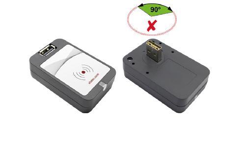 Der TWN4 USB Front Reader eignet sich für Anwendungen im Secure Printing, die Authentisierung an Rechnern, Maschinen oder Medizingeräten