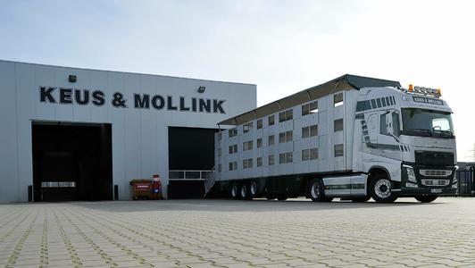 Das niederländische Transportunternehmen Keus & Mollink hat vor kurzem seine gesamte Flotte mit Transics' neuer Flottenmanagement-Lösung ausgestattet, die eine Echtzeit-Überwachung von Lkw, Fahrer und Anhänger über eine einzige Plattform ermöglicht