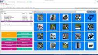 Dashboard – Übersichtsbildschirm der WinLine Kassenlösung