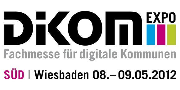 DiKOM Süd 2012 - Fachmesse für digitale Kommunen, 8.-9. Mai 2012, Rhein-Main-Hallen Wiesbaden