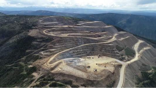 Kommerzieller Produktionsstart bringt rund 35.000 Unzen Gold und Unzen Gold und