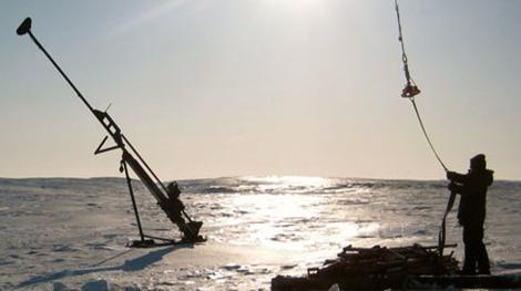 Explorationsbohrung; Foto: Arctic Star Exploration