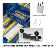 "nextLAP expands its IIoT hardware portfolio: New wireless devices for ""Smart Shelf"""