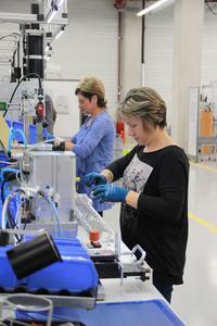 14 Mio. € in neues Produktionswerk investiert. ebm-papst baut damit sein Heiztechnikgeschäft am Standort Landshut aus.