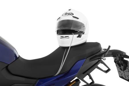 Helm-Diebstahlsicherung »HELM-LOCK« - jetzt auch für die BMW F 900 R und XR (Art.-Nr.: 44320-800)