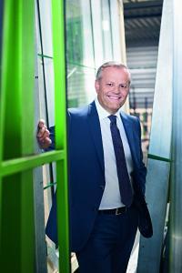 Andreas Engelhardt, persönlich haftender Gesellschafter der Schüco International KG / Bildnachweis: Schüco International KG