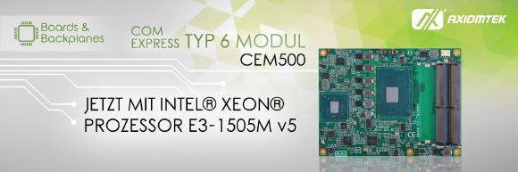 CEM500 neu und verbessert