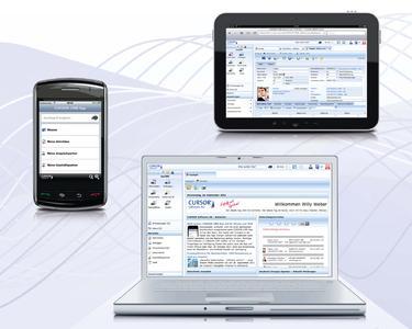 Mobilität und Flexibilität mit Web Client und Smartphone-App