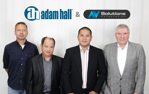 Adam Hall Group and Audio-Video Solutions Corp join forces in the Philippines