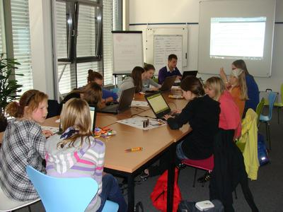 Erlebe Software - Girls Day bei infoteam Software