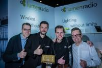 "LMP erhält LumenRadio ""Distributor of the Year Award"""