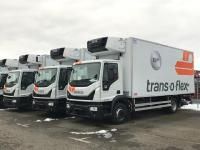 Die ersten der 240 neuen Transporter, Lkw und Trailer werden im März geliefert