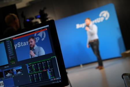 Pitch VentureCon BayStartUP (c) BayStartUP / Andreas Gebert