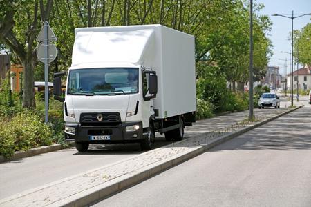 Der Renault Trucks D Cab 2 m bietet viele Aufbaumöglichkeiten