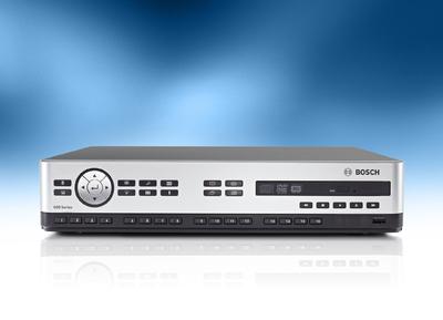 Neuer Digitaler Videorekorder 600 Serie von Bosch