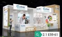 Vink Chemicals (Shanghai) Co. Ltd in Halle 2.1 an Stand E 59-61