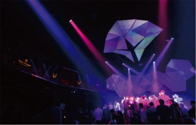 Shanghai Mook Club's Exhilarating Nightlife Created with HARMAN's Martin LED Lights