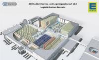 3D-Image: WITRON In das EDEKA-Logistikzentrum in Zarrentin werden während des laufenden Betriebs durch WITRON weitere COM-Maschinen integriert.