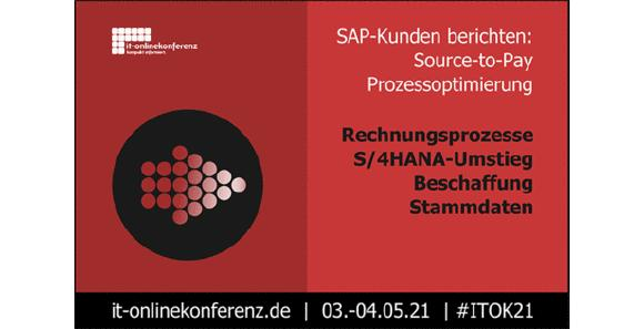 Thementag Source-to-Pay der IT-Onlinekonferenz mit der xSuite Group. Bild: IT-Onlinekonferenz