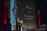 Dr. Gunnar Merz, CEO CFK Valley e.V., opened the  9th CFK-Valley Stade Convention
