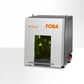 Laser marking machine FOBA M1000 with integrated vision system IMP (Intelligent Mark Positioning)