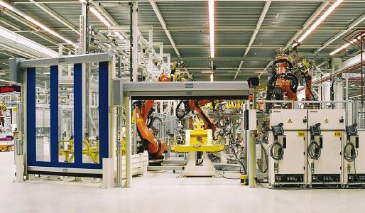 Maschinenschutztore von ASSA ABLOY Entrance Systems