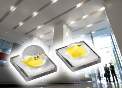 Temperature stable Oslon SSL LED with constant efficiency