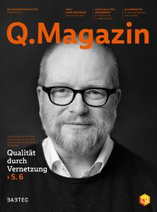 Das Q.Magazin erscheint jährlich zur Fachmesse Control