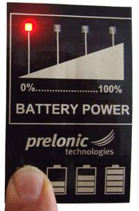 Verschiedene Prototypen, die von prelonic präsentiert wurden. Diese Prototypen zeigen, wie Gaming Karten, Marketingmaterial, Grußkarten oder andere Produkte aussehen könnten